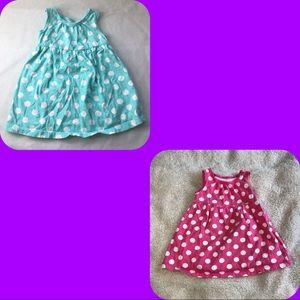 💥4/$20 OLD NAVY polka dot sleeveless dress lot